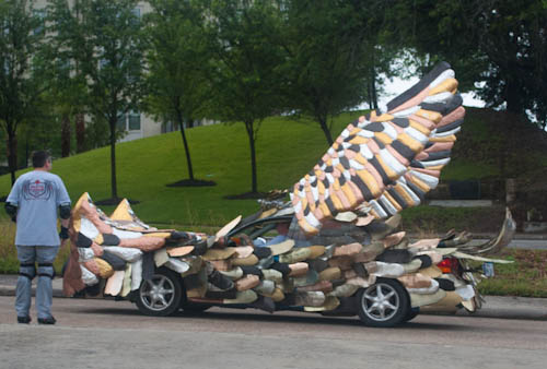 2012 Houston Art Car Parade The Cars The Pic I Took Yesterday