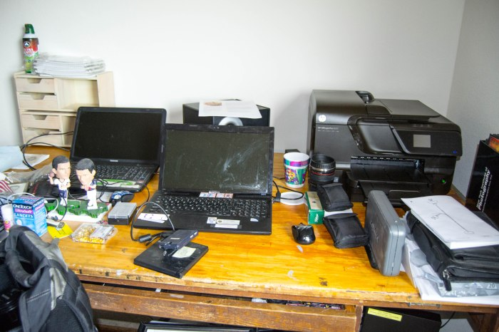 A messy desk (My drafting table)