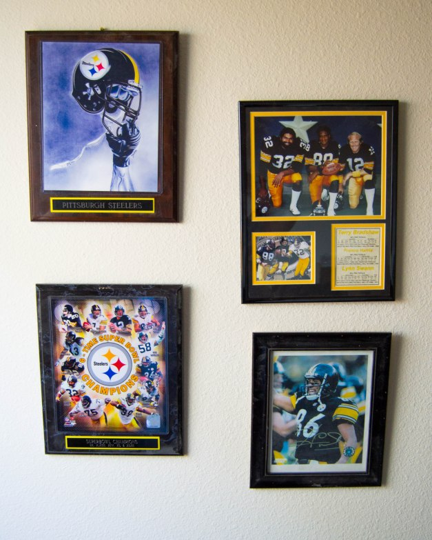 Steeler Memorobilia